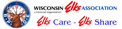 Wisconsin Elks Association logo